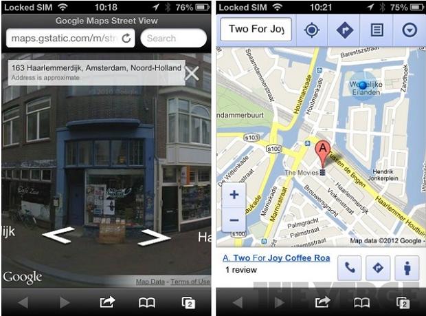 Google Street View chega ao iOS 6 por meio de aplicativo web (Foto: Reprodução)