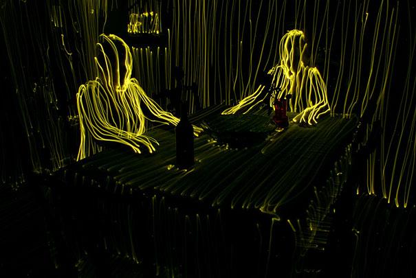 Fantasmas de luz à mes (Foto: Janne Parviainen)