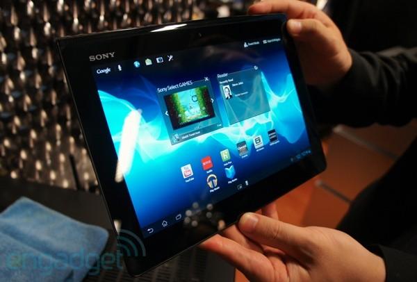 Tablet da Sony encontrou problemas de vedação (Foto: Reprodução)