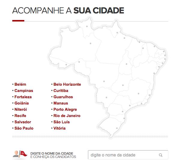 Cobertura completa das eleições municipais no G1 (Foto: Reprodução)