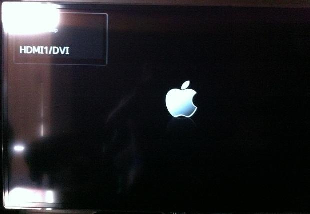 Apple Tv Inicializando (Foto: Reprodução/Edivaldo Brito)