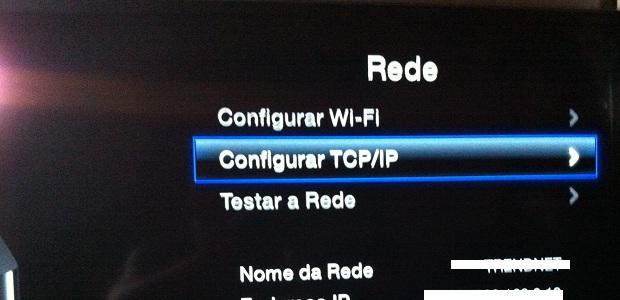 Acessando a configuração de TCP/IP (Foto: Reprodução/Edivaldo Brito)