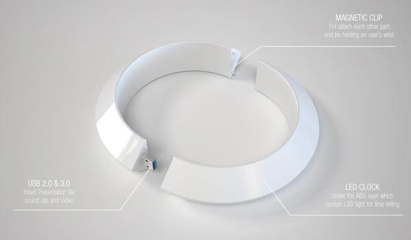 Composição da pulseira é bem simples (Foto: Reprodução)
