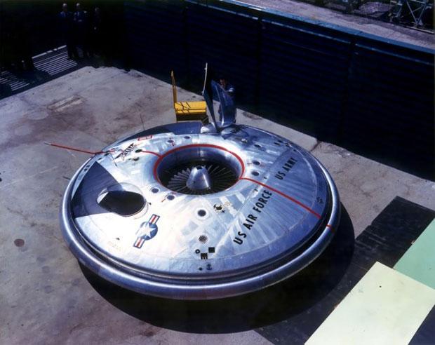 Foto divulgada pelo governo dos EUA mostra um dos protótipos do projeto (Foto: Reprodução)