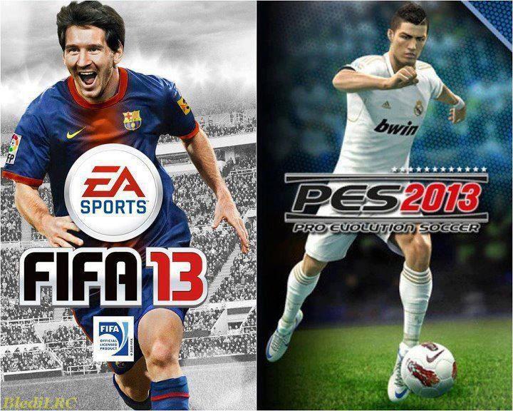 FIFA 13 e PES 2013 fazem sucesso em qualquer console da criançada (Foto: Reprodução)