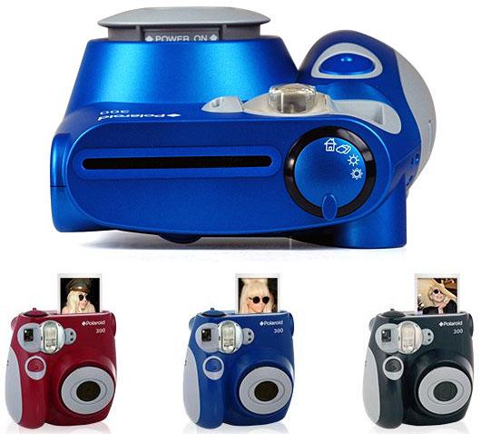 Polaroid 300, fotos impressas em segundos (Foto: Reprodução)