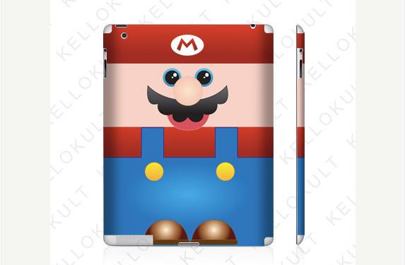 Adesivo do Mario para iPad (Foto: Reprodução)
