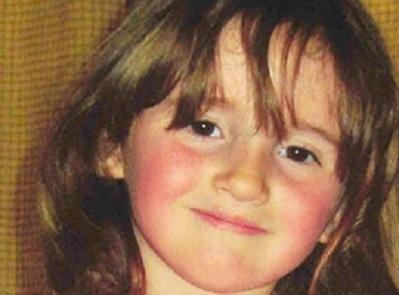 April Jones, de 5 anos, que foi sequestrada e assassinada (Foto: Reprodução)