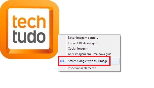 """Com a extensão uma nova opção surgirá: """"Search Google with this image"""" (Foto: Reprodução/Júlio Monteiro) (Foto: Com a extensão uma nova opção surgirá: """"Search Google with this image"""" (Foto: Reprodução/Júlio Monteiro))"""
