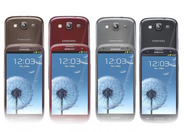 Galaxy S3, novas cores e 64 GB de armazenamento interno (Foto: Reprodução)