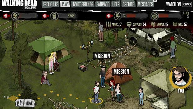 The Walking Dead Social Game (Foto: Reprodução)