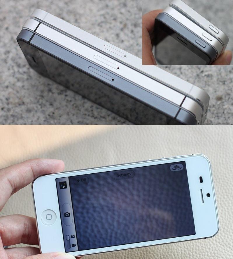 O clone imita com perfeição o corpo e as dimensões do iPhone 5 (Foto: Reprodução)