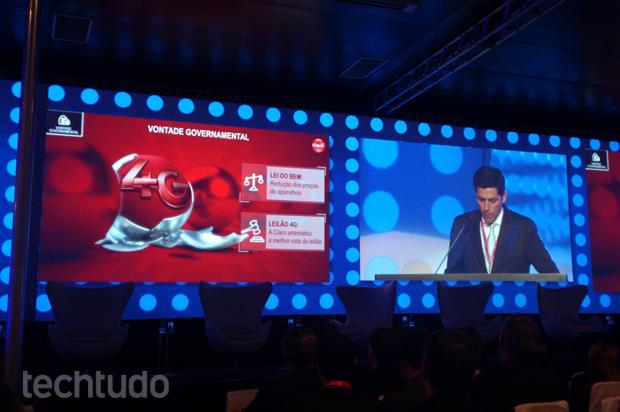 Claro: foco total na nova rede 4G (Foto: Allan Melo / TechTudo)