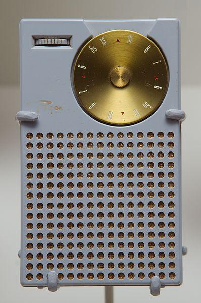 Figura 2:Regency TR1, o primeiro rádio tansistorizado