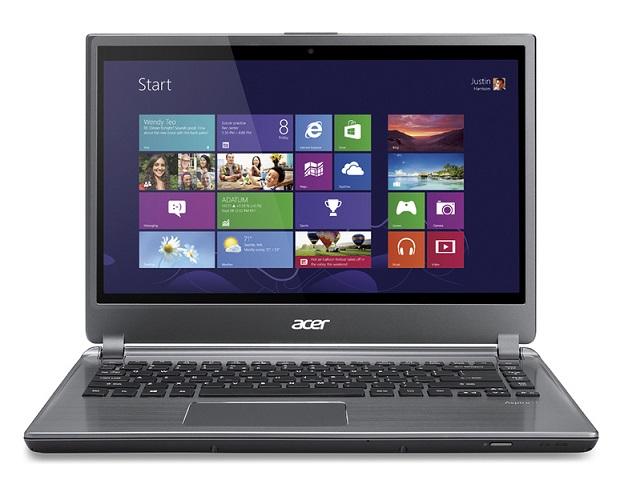 Novos modelos da Acer vêm com Windows 8 (Foto: Divulgação)
