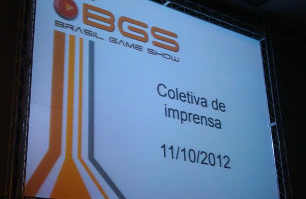 Coletiva revelou o futuro da BGS (Foto: Felipe Vinha/TechTudo)