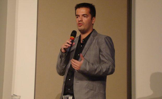 Marcelo Tavares, organizador da BGS (Foto: Felipe Vinha/TechTudo)
