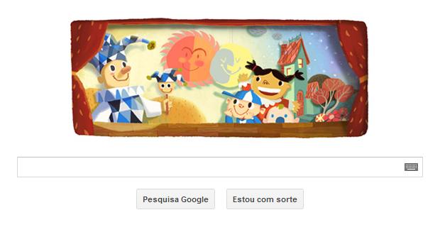 Doodle do Google comemora o Dia das Crianças no Brasil (Foto: Reprodução/Google)
