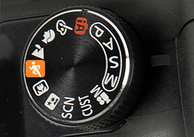 Modo esporte ou modo ação em câmeras amadoras (Foto: Reprodução)