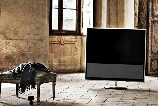 A BoeVision 11 é a primeira SmartTV da Bang & Olufsen (Foto Divugação)