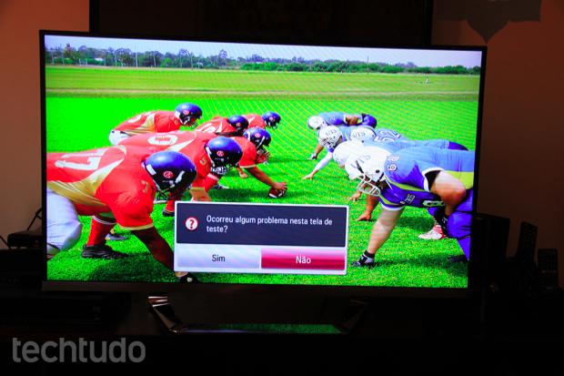 Qualidade da imagem em Full HD (Foto: Rodrigo Bastos/TechTudo)