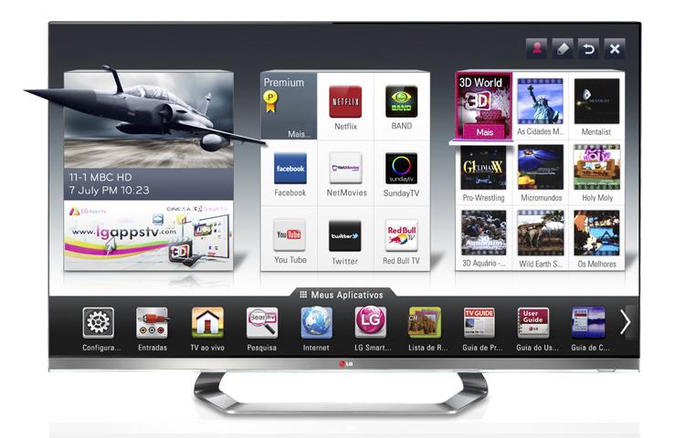 LG Cinema 3D Smart TV  (Foto: Divulgação)