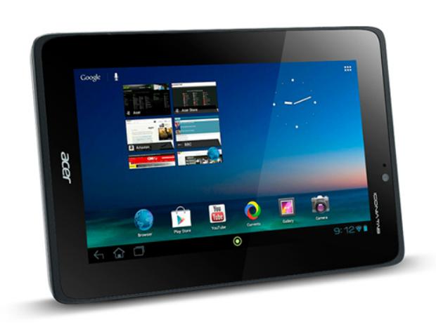 Novo tablet da Acer vem com Jelly Bean (Foto: Reprodução)