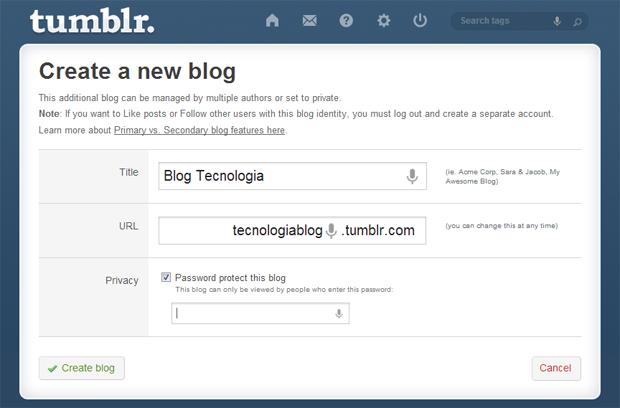 4 configurar url e titulo do blog