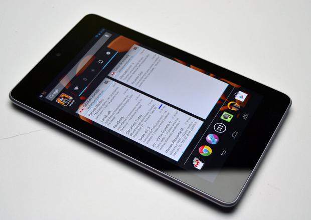 Nexus 7: design minimalista