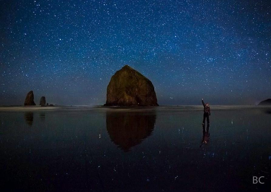 Foto do céu à noite depende muito do ajuste de ISO (Foto: Ben Canales)