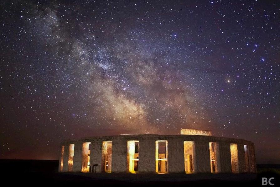 Fotografia de estrelas feita em momento de céu aberto, sem nuvens (Foto: Ben Canales)