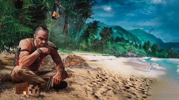 Ubisoft lançará pacote de gráficos de FarCry 3 para Minecraft (Foto: Divulgação) (Foto: Ubisoft lançará pacote de gráficos de FarCry 3 para Minecraft (Foto: Divulgação))