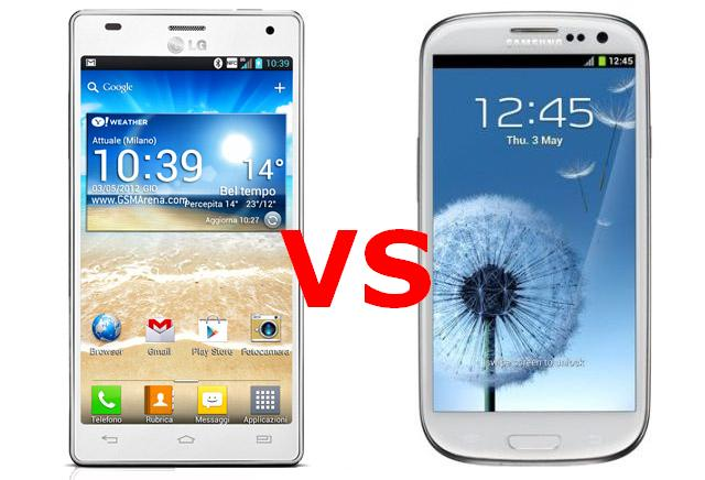 Duelo entre Optimus 4X HD e Galaxy S3, qual o melhor? (Foto: Reprodução)