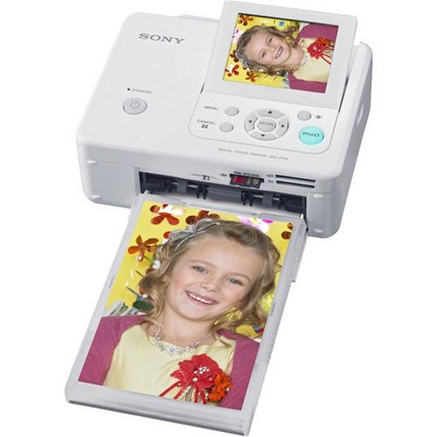 Impressora fotográfica a laser da Sony (Foto: Reprodução)