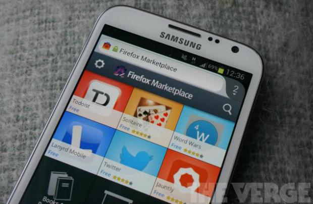 Marketplace da Firefox está disponível no navegador para Android (Foto: The Verge)