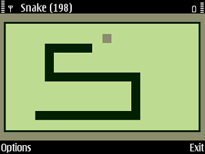 Snake, o jogo de cobrinhas, ganha versão nomeada Tile Snake (Foto: Reprodução)
