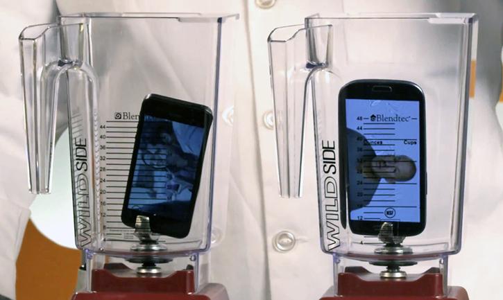 Will It Blend? - iPhone 5 vs Galaxy S3 (Foto: Reprodução)