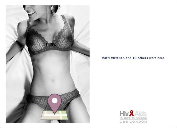 Anúncio ganhou também versão impressa (Foto: Reprodução)