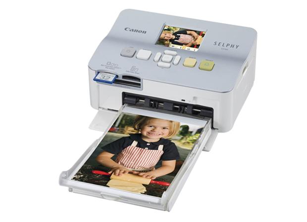 Impressora fotográfica da Canon é uma entre as muitas opções de modelos disponíveis (Foto: Divulgação)
