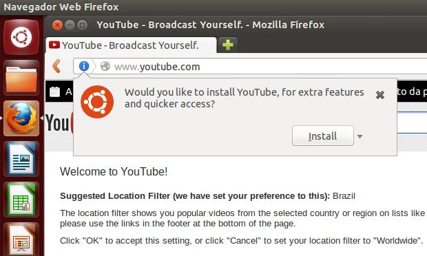 Criando uma webapp do YouTube (Foto: Reprodução/Edivaldo Brito)
