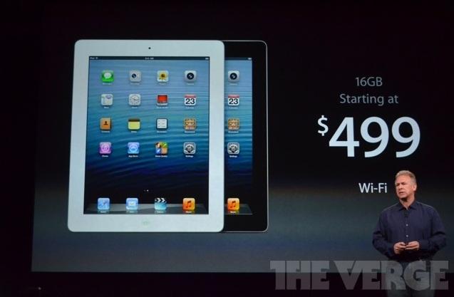 Apple anuncia atualização no iPad (Foto: Reprodução/The Verge)