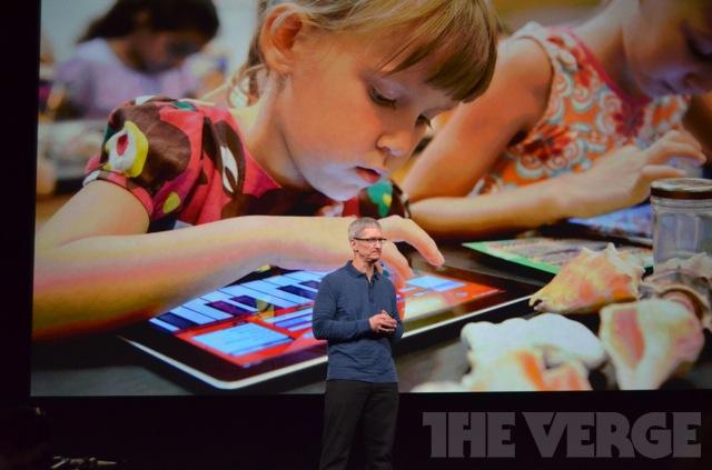 iPad se tornou uma grande ferrramenta para ensino, sendo utilizado em escolas norte-americanas (Foto: Reprodução/The Verge)