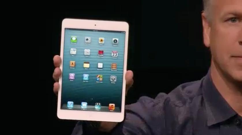 iPad mini  apresentado oficialmente (Foto: Reproduo)