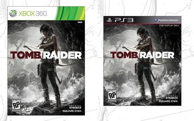 Lara aparece machucada em capa de Tomb Raider (Foto: Divulgação)