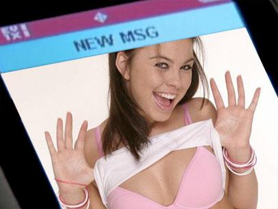 Envio de fotos eróticas é cada vez mais frequente na web e no celular (Foto: Reprodução)
