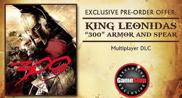 God of War conta com o Rei Leônidas no multiplayer (Foto: Divulgação)