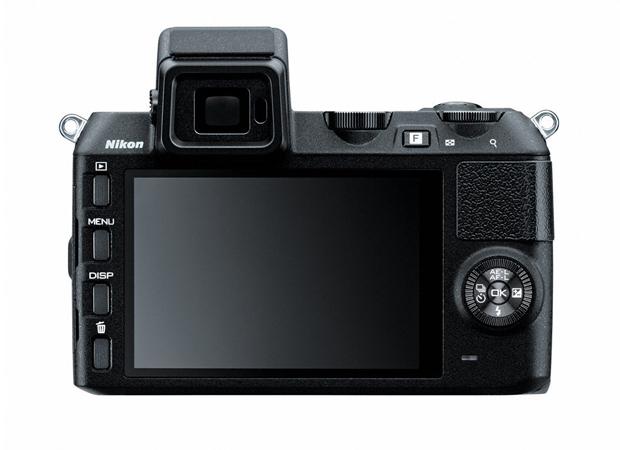 Traseira da Nikon 1 V2 (Foto: Divulgação)