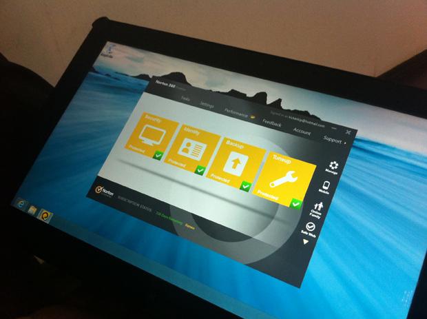 Nova interface do Norton Antivírus (Foto: Foto: André Fogaça/ TechTudo)