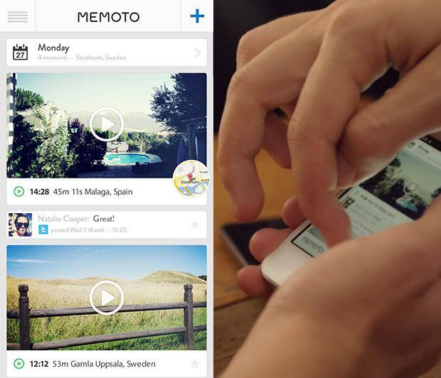 App da Memoto serve para organizar as fotos clicadas (Foto: Reprodução)