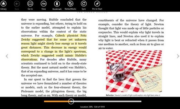 O aplicativo do Kindle para Windows 8 é compatível com as arquiteturas de 32 bits, 64 bits e ARM (Foto: Divulgação)